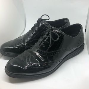 Cole Haan patent Oxfords - size 10